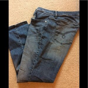 Lee riders blue jeans
